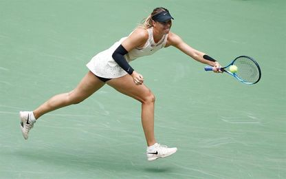 Sharapova salva un punto de partido para consumar la revancha ante Sevastova