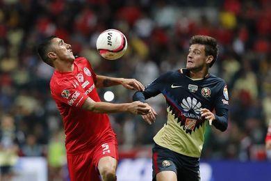 América vence 2-1 al Toluca y recupera subliderato del torneo Apertura de fútbol en México
