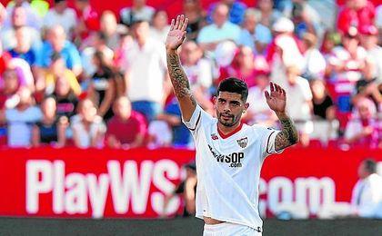 Entró el rosarino y salió el fútbol del Sevilla.
