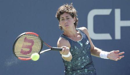 Carla Suárez no supera la primera ronda