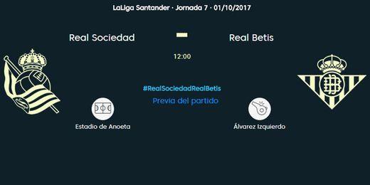 Real Sociedad-Real Betis, en directo
