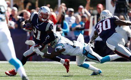 30-33. Newton y los Panthers dan la sorpresa con el triunfo ante los Patriots