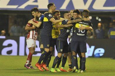 Boca continúa como líder tras un esforzado triunfo ante Chacarita