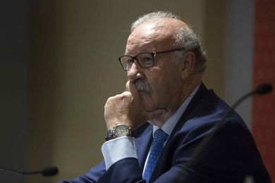 """Del Bosque sobre Piqué: """"Lo que haga Lopetegui será lo mejor"""""""