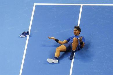 Nadal, Del Potro y Dimitrov sufren para superar sus duelos de primera ronda
