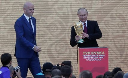 """Putin considera """"inaceptables"""" los retrasos en infraestructuras mundialistas"""