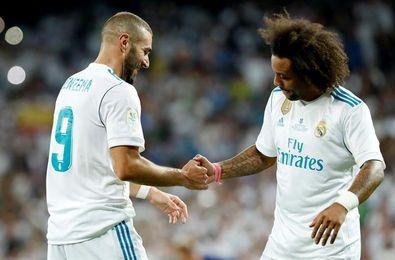 Theo, Benzema y Marcelo, novedades en un entrenamiento sin internacionales
