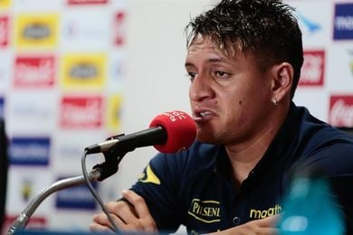 """Garcés: Ecuador quiere """"cerrar con dignidad"""" la eliminatoria ante Argentina"""