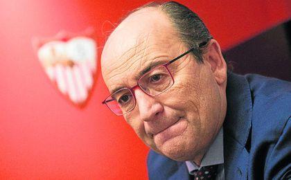 """José Castro: """"Estaré en el Sevilla mientras tenga respaldo"""""""