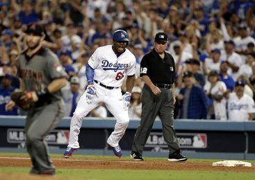 Dodgers (2-0) a un triunfo de Serie Campeonato; Nacionales empatan (1-1)