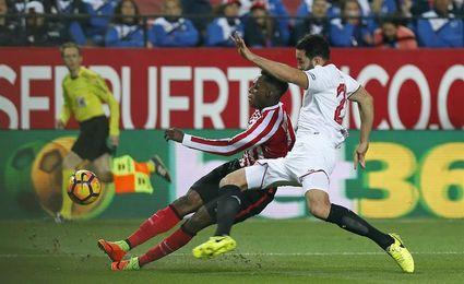 El Athletic buscará octava victoria consecutiva ante el Sevilla en San Mamés