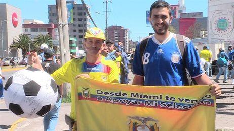 La clasificación para Rusia 2018 se vive en Quito como la final del Mundial