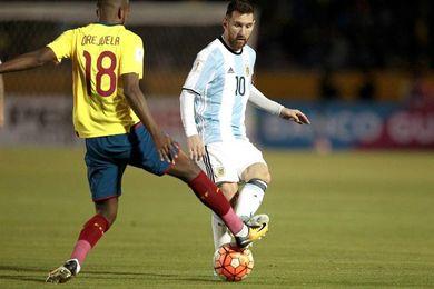 1-3. Un recital de Messi en Quito pone a Argentina en el Mundial de Rusia