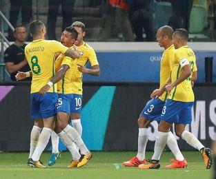 3-0. Brasil golea a Chile y no podrá jugar su tercer mundial consecutivo