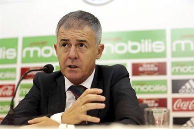 El español Lucas Alcaraz, destituido como seleccionador argelino