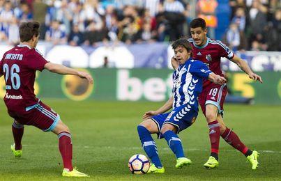 La Real Sociedad pone a prueba en Mendizorroza su solvencia como visitante