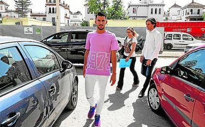Dani Ceballos vio cumplido su sueño de debutar con el equipo de su vida: el Betis.