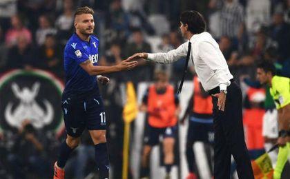 Imparable Immobile: doblete para ganar a la Juventus