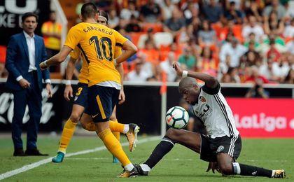 Kondogbia vuelve a la lista del Valencia y Maksimovic no viaja