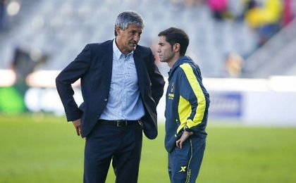 "Quique Setién: ""Me vi cerca del Valencia"""
