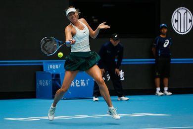 Sharapova jugará con Sabalenka su primera final tras reaparecer