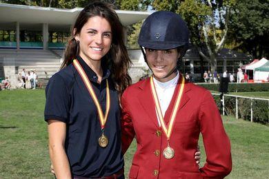 Paola Amilibia, primera amazona campeona de España absoluta de hípica