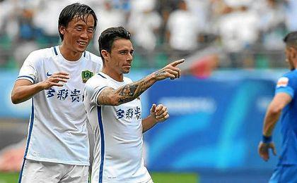 Rubén Castro ha firmado seis goles con el Guizhou.