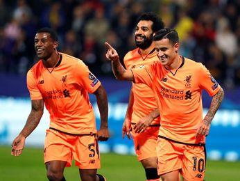 0-7. El Liverpool se aúpa al liderato con una goleada histórica