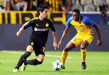 1-1. El Dortmund se complica en Nicosia