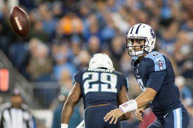 36-22. Mariota hace valer su liderazgo y Titans rompen la racha perdedora ante los Colts