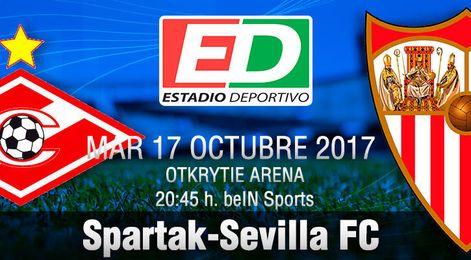 Spartak-Sevilla: Redención imperativa en Moscú