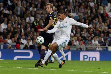Real Madrid y Tottenham empatan 1-1 al descanso