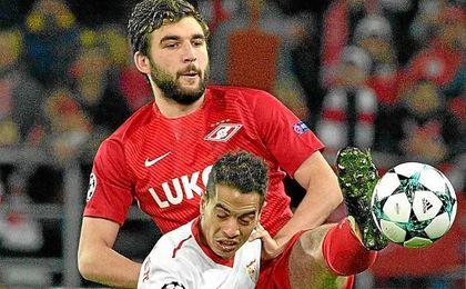 Lance del Spartak-Sevilla.