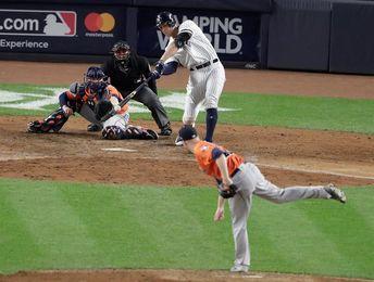 6-4. Judge ayuda al triunfo de los Yanquis que empatan la serie ante los Astros