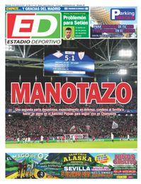 La portada de ESTADIO Deportivo de este miércoles