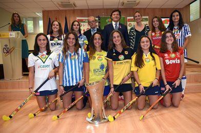 La Liga femenina de hockey se presenta con el nombre de Iberdrola y un homenaje a Barcelona 92