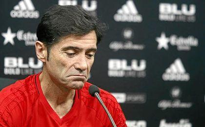 """Marcelino cree que Moscú """"no es una referencia clara para definir al Sevilla""""."""