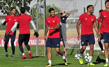 Sampaoli sigue tirando del Sevilla en sus listas.