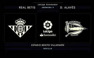 Betis-Alavés, en directo: Sanabria pone en ventaja al Betis