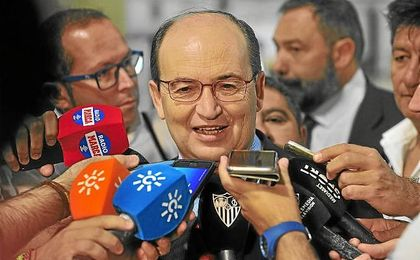 José Castro habló tras el partido para ratificar a Berizzo.