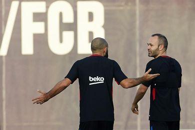 Mascherano y Rakitic, principales novedades para recibir al Málaga