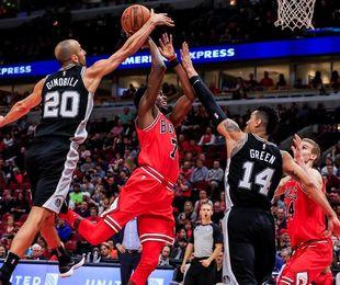 77-87. Aldridge logra doble-doble y los Spurs siguen ganando