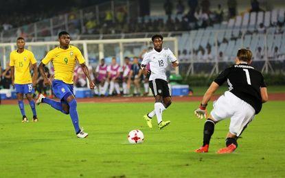 Brasil remonta a Alemania (2-1) y se mete en semifinales