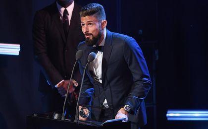 Giroud gana el premio Puskas al mejor gol