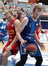 Henk Norel, pívot del Gipuzkoa Basket, encabeza cinco estadísticas de la ACB