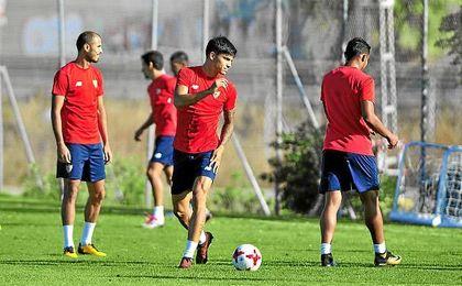 Correa tendrá una oportunidad en la Copa ante el Cartagena.