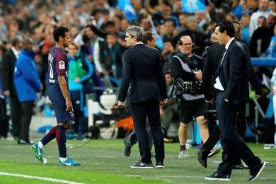Neymar insinúa que debe investigarse el lanzamiento de objetos en Marsella