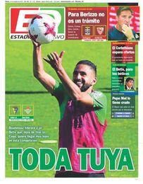 La portada de ESTADIO Deportivo de este martes