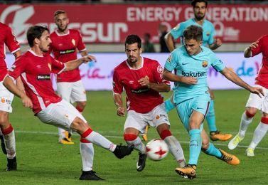 0-3. El Barça comienza la defensa del título con más goles que juego