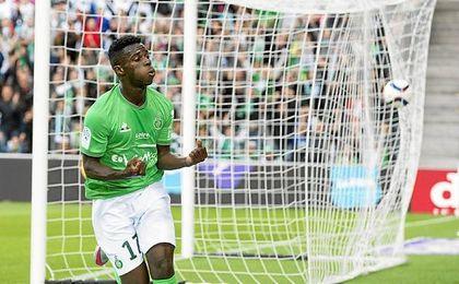Bamba ha firmado cuatro goles y una asistencia en ocho partidos.